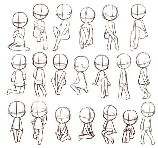 Korper Cartoon Korper Drawings Drawing People Drawing Reference