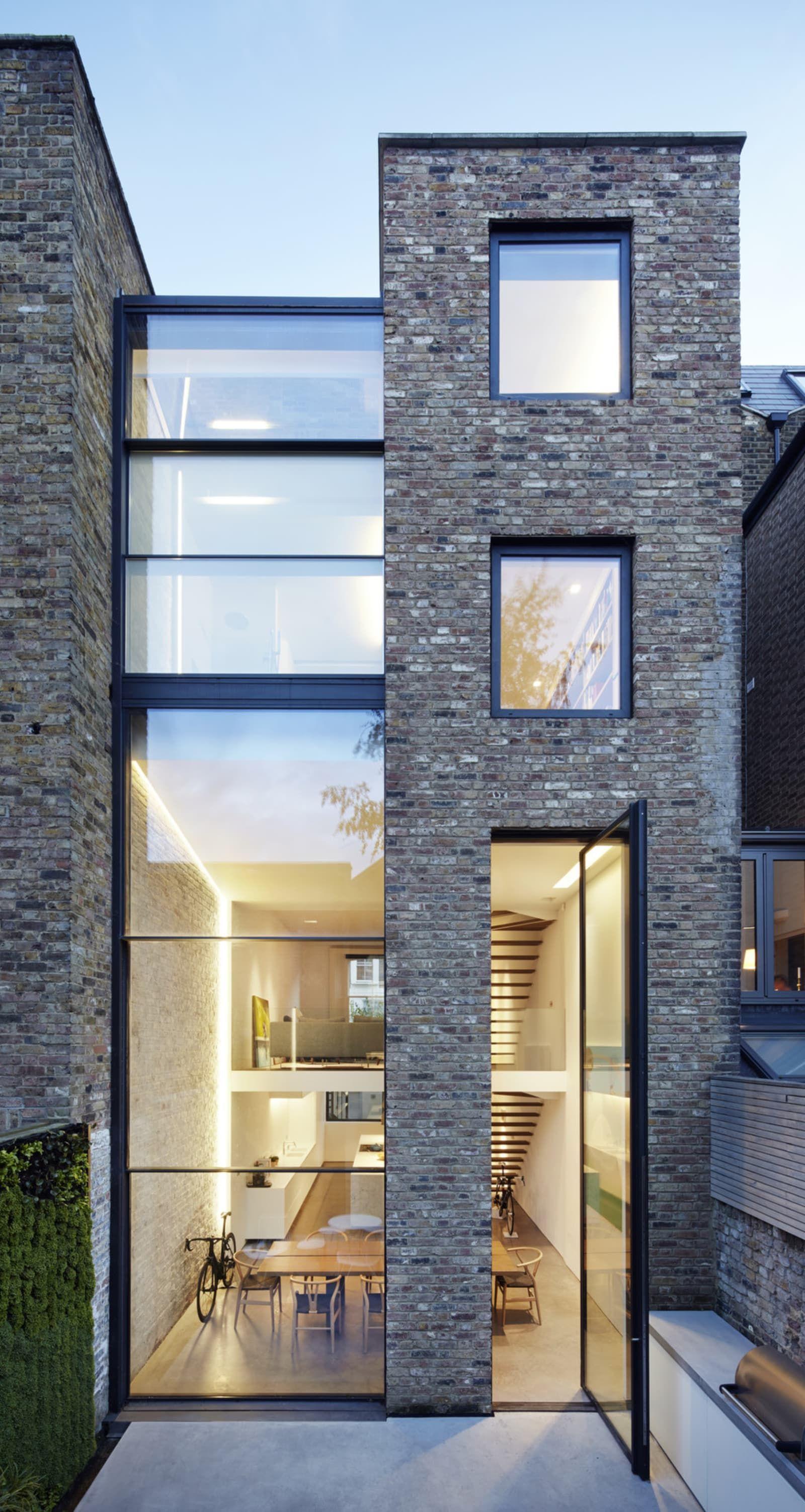 Studio Octopi, Jack Hobhouse · Slot House Architecture De Maison,  Architecture Contemporaine, Architecture