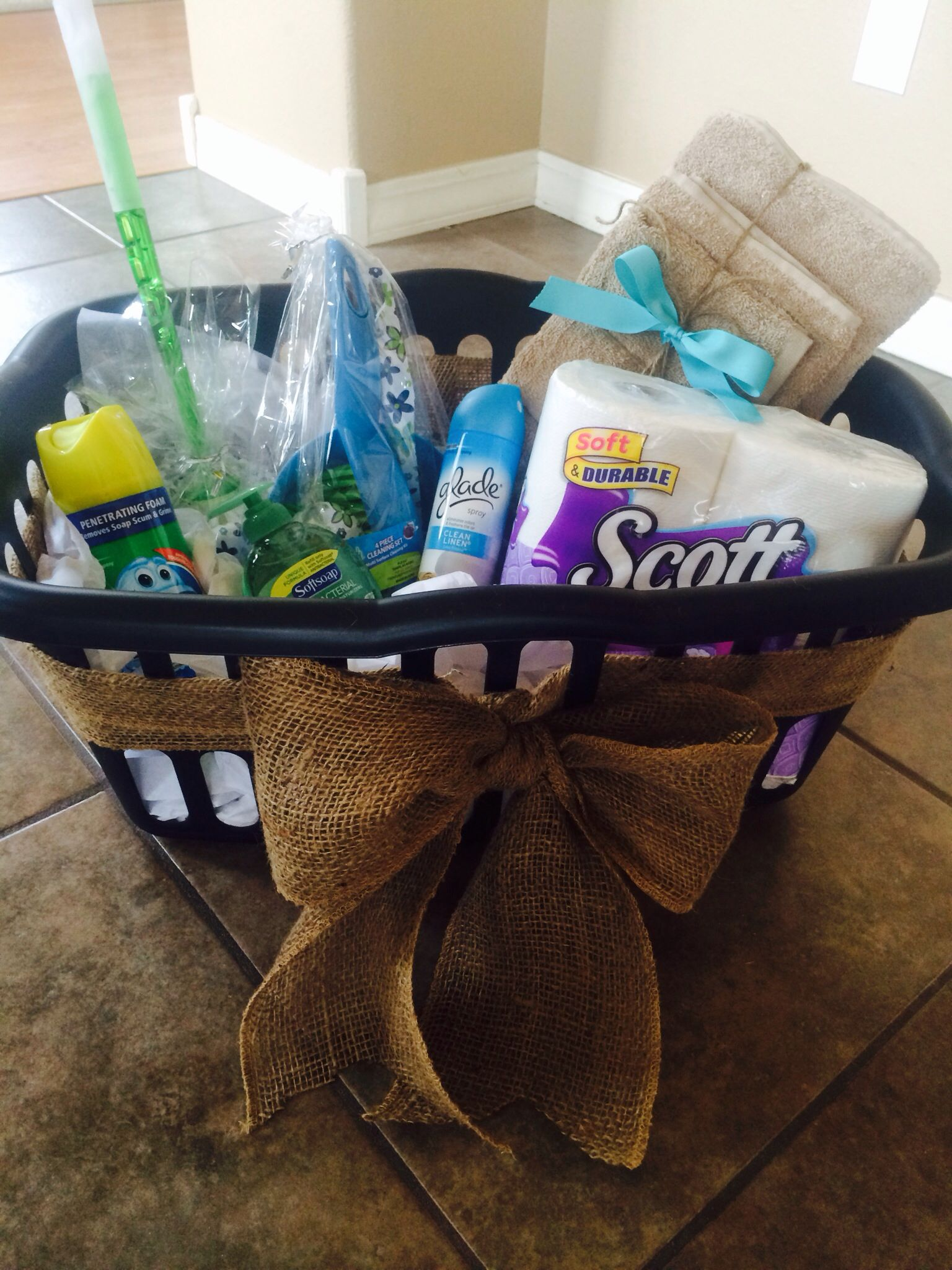 High School Graduation Gift Basket Bathroom Themed But Could Do Kitch High School Graduation Gift Basket Graduation Gift Basket High School Graduation Gifts