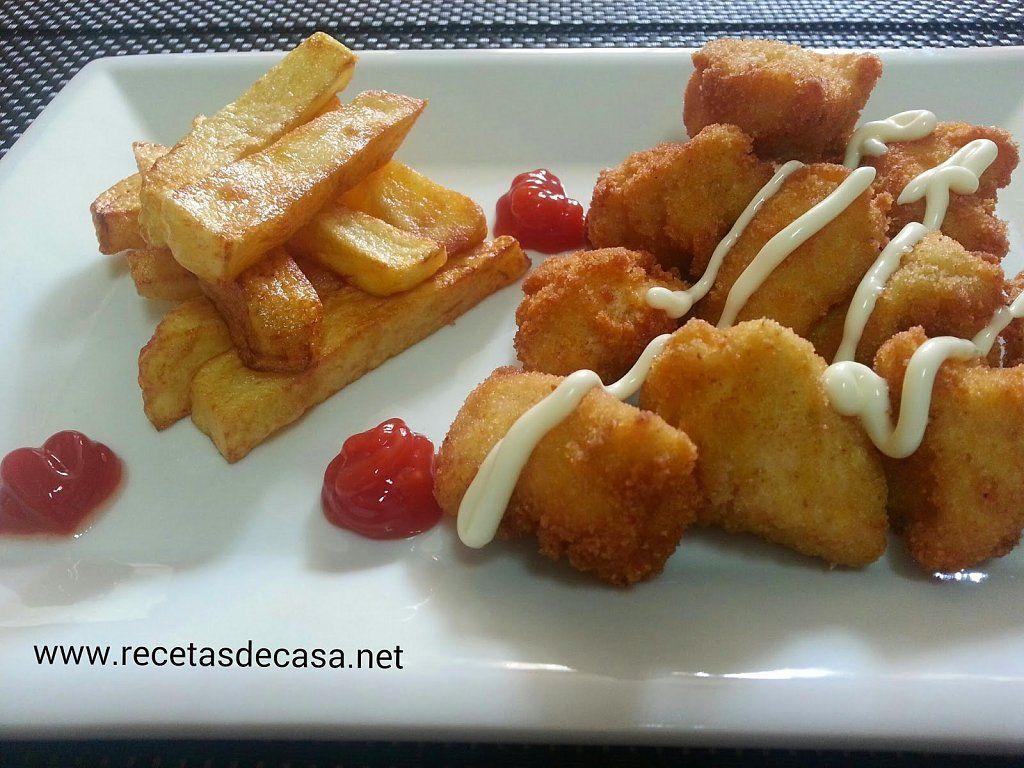 6 Recetas Para Disfrutar Del Sábado Noche Nuggets De Pollo Nuggets De Pollo Caseros Recetas Para Cocinar