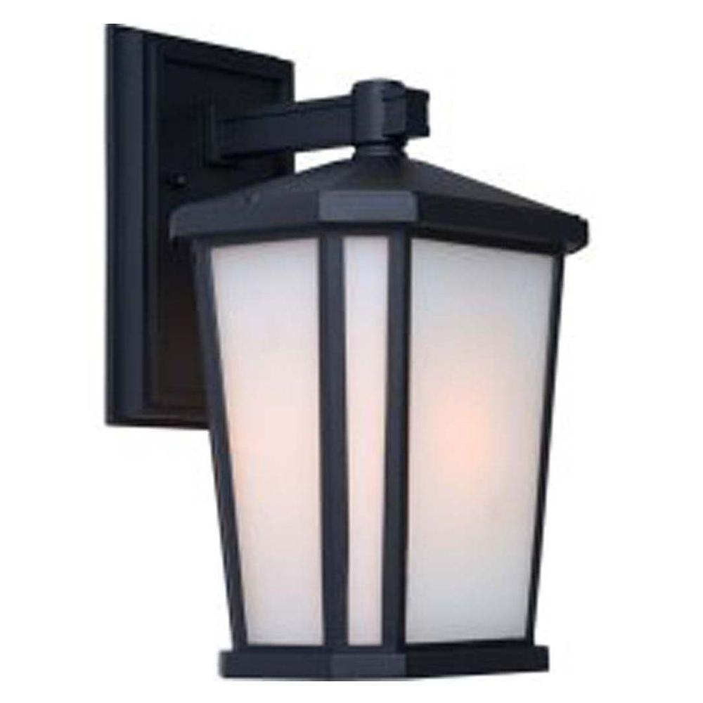 Artcraft rostovdon light rich black outdoor wall sconce products