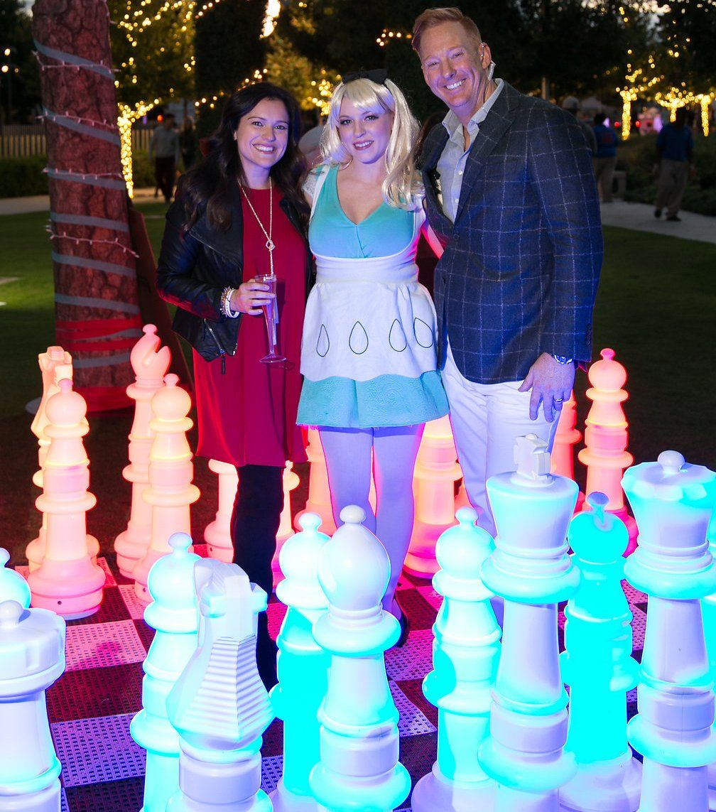 Oversized Light Up Chess To Rent | Game On Amusement Game Rentals | Dallas,  TX