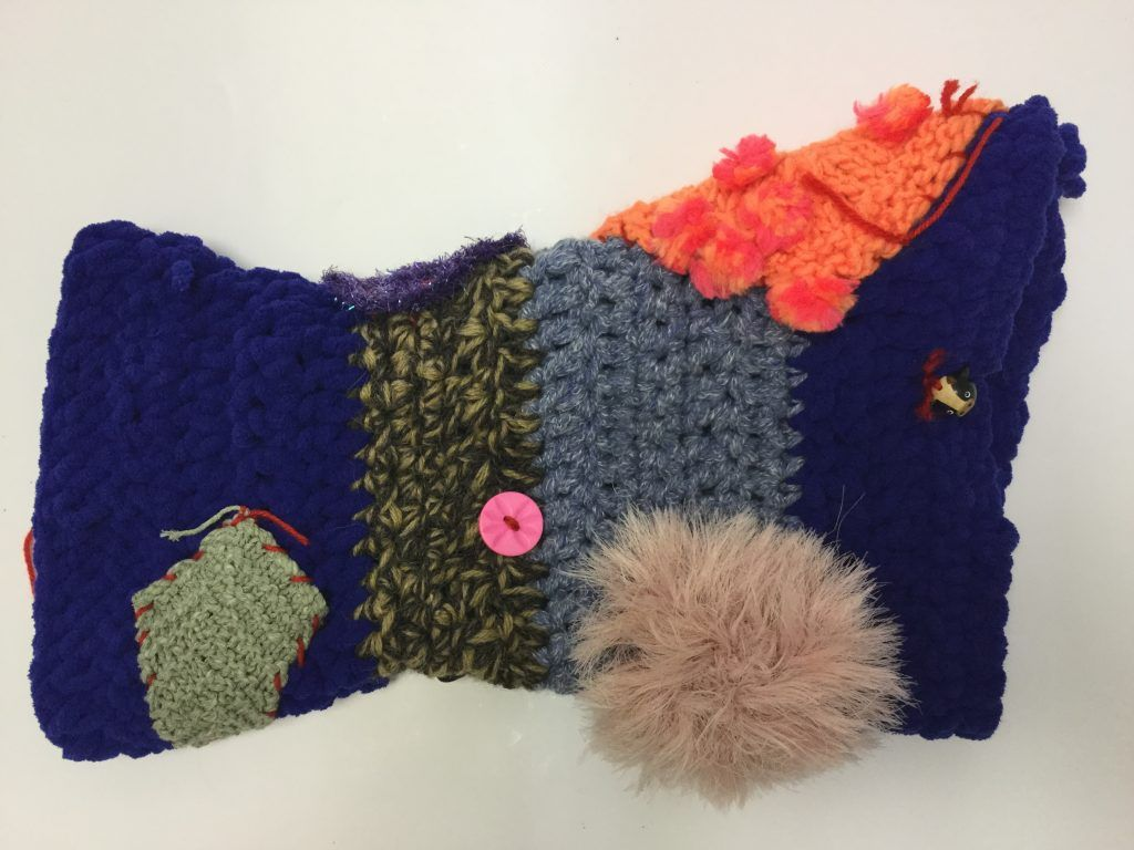 How to crochet a twiddlemuff for dementia patients - free pattern ...