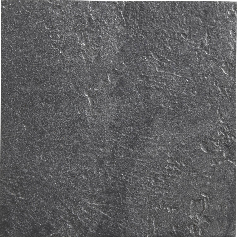 Carrelage Mur Et Sol Pierre Anthracite Mat L 30 X L 30 Cm Vestige