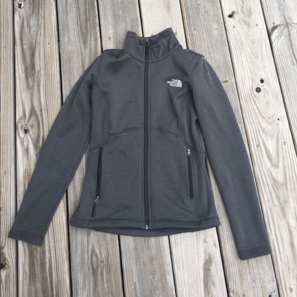 Grey North Face Jacket
