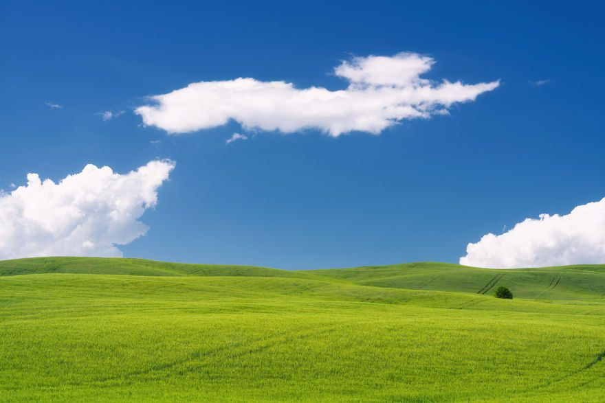 I Photographed Tuscany And It Looks Like The Classic Windows Xp Wallpaper Beautiful Images Nature Beautiful Nature Nature Photography