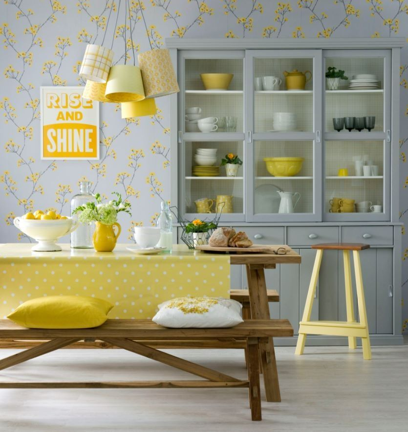 6 Secrets To Sunny Style Kitchen Yellow Dining Room Kitchen
