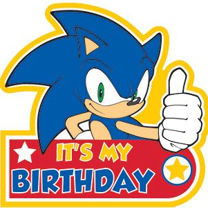 It S No Use Sonic Birthday Sonic Party Hedgehog Birthday