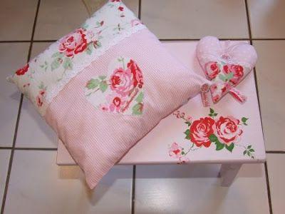 Shabby Roses Cottage Rosa Kissenbezuge Ikea Kissen Kissen