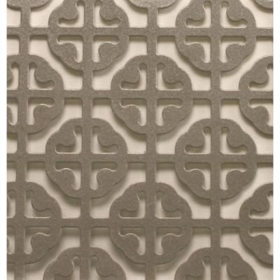 M D Building Products 1 Ft X 2 Ft Satin Nickel Mosaic Aluminum Sheet 57005 Aluminium Sheet Ceiling Decor M D Building Products