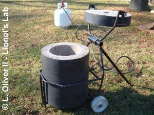 Backyard foundry for the do it yourself smelter, I am ... on backyard lights, backyard kilns, backyard awnings, backyard tools, backyard roofing, backyard doors, backyard coolers,