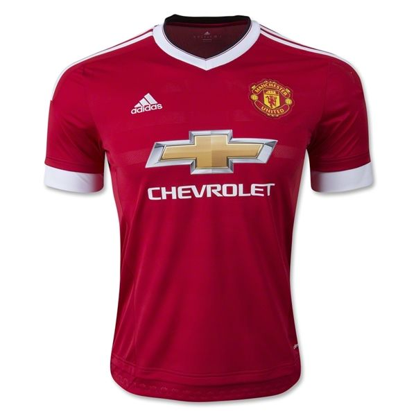 Manchester United 15 16 Authentic Home Soccer Jersey Manchester United Soccer Outfits Manchester United Soccer