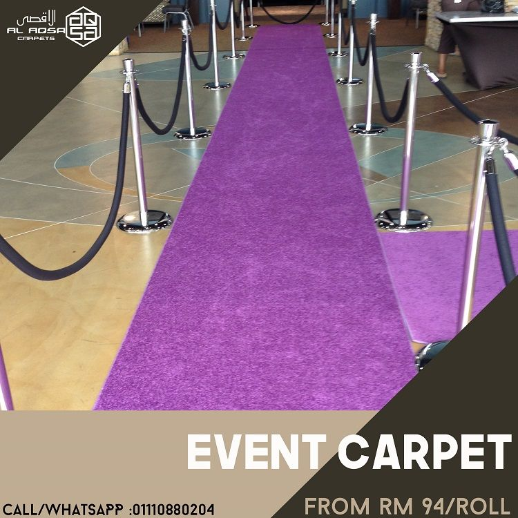 BUY HIGH QUALITY EVENT CARPET IN YOUR BUDGET