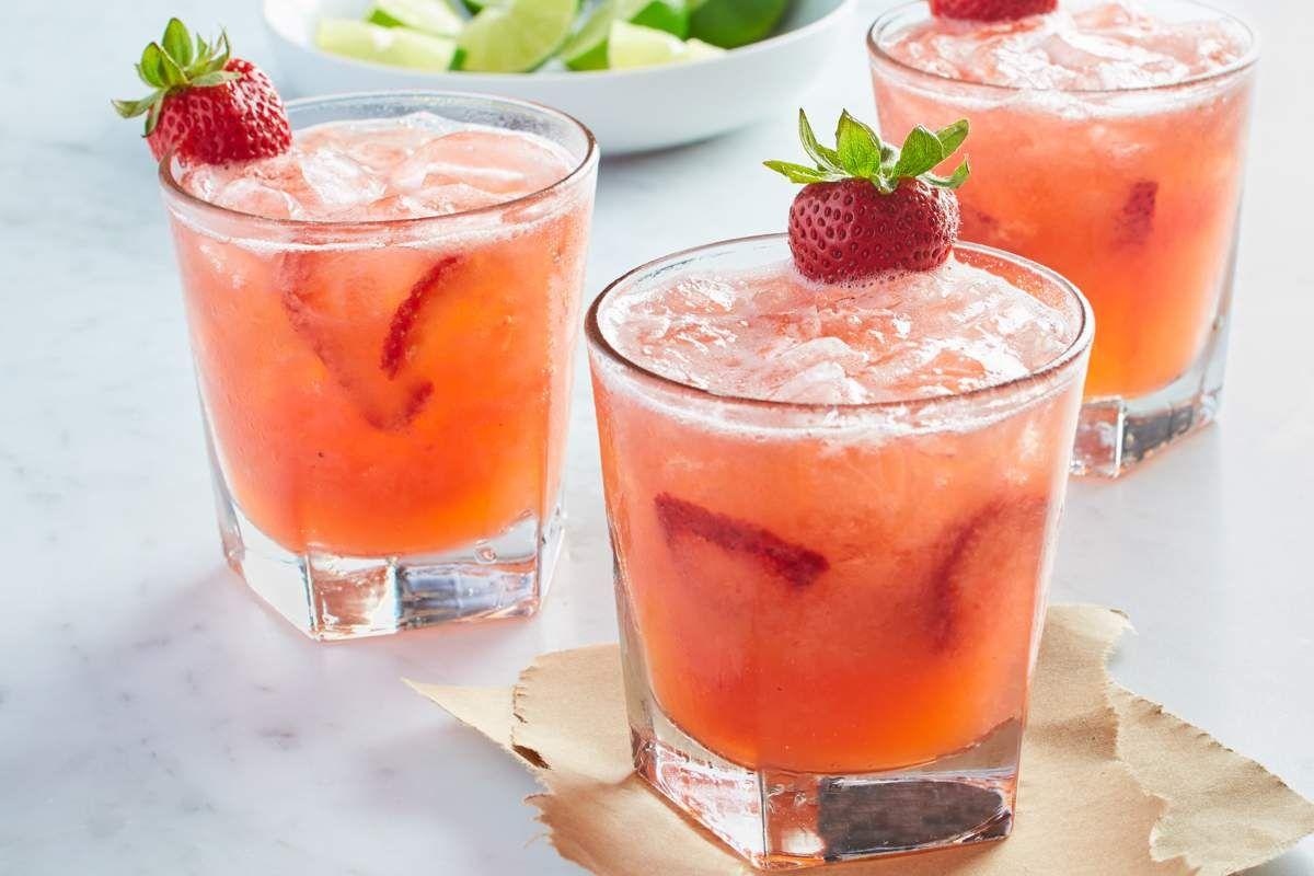 Strawberry Lime Margarita Strawberry Vodka Strawberry Drinks California Pizza Kitchen Menu