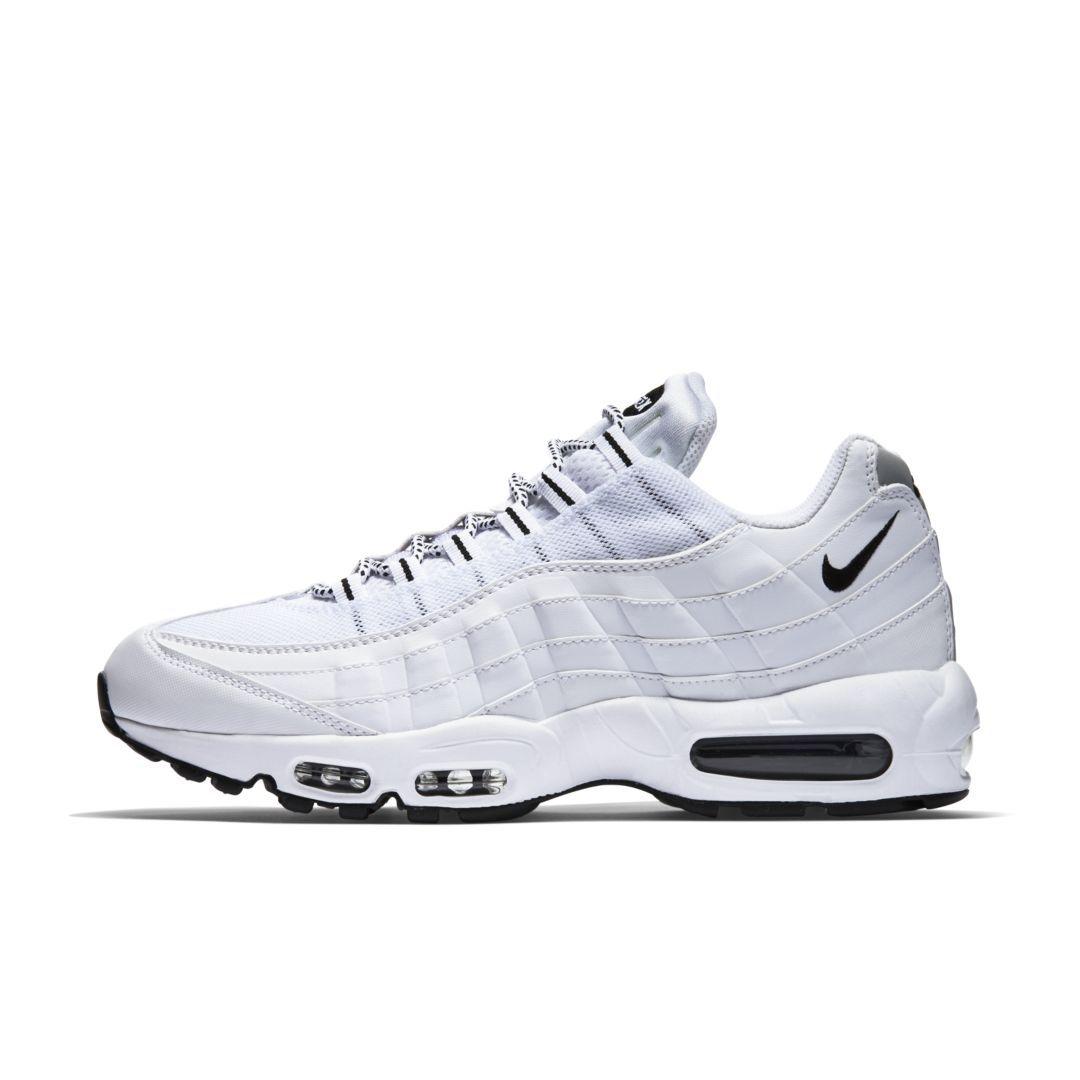 timeless design e5c8e 3316b Nike Air Max 95 Men s Shoe Size 11.5 (White)