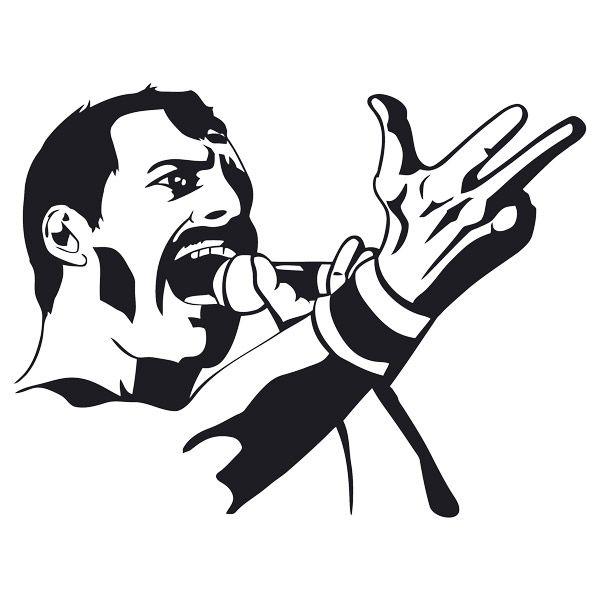Vinilos Decorativos Freddy Mercury Queen Tatuaje De Freddie Mercury Freddy Mercury Mercurio
