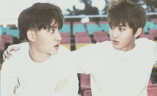D.O. & Suho - EXO Photobook 'DIE JUNGS'.