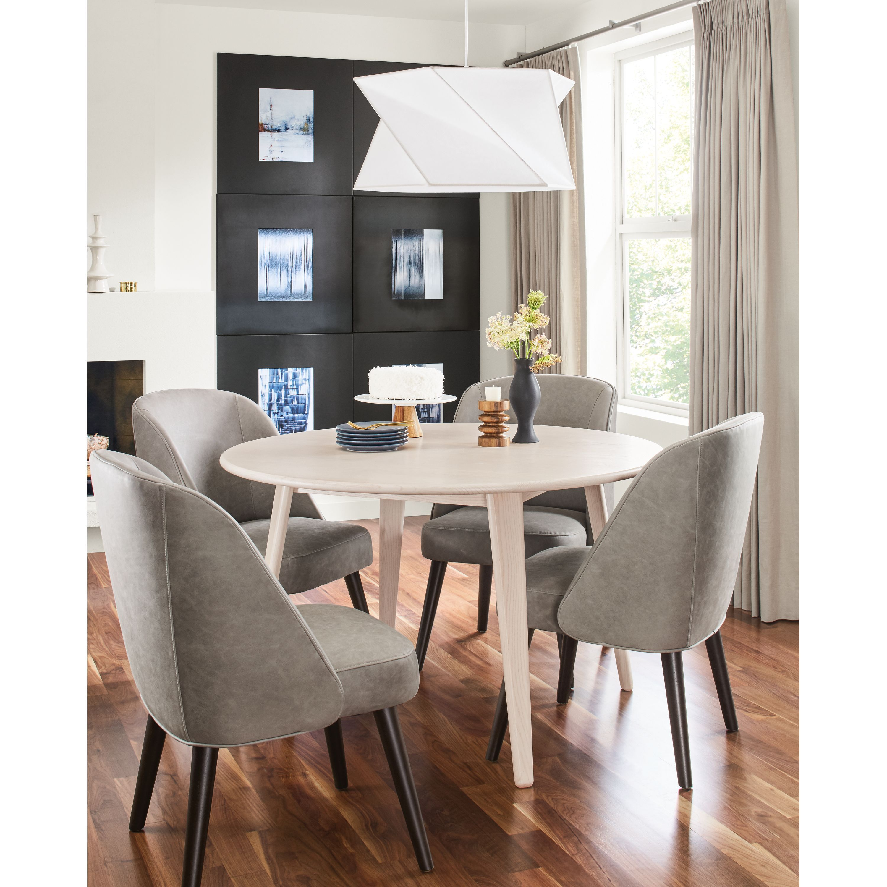 Room Board Lowell Round Extension Table Products In