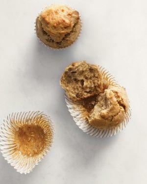 Gluten-Free Banana-Walnut Muffins