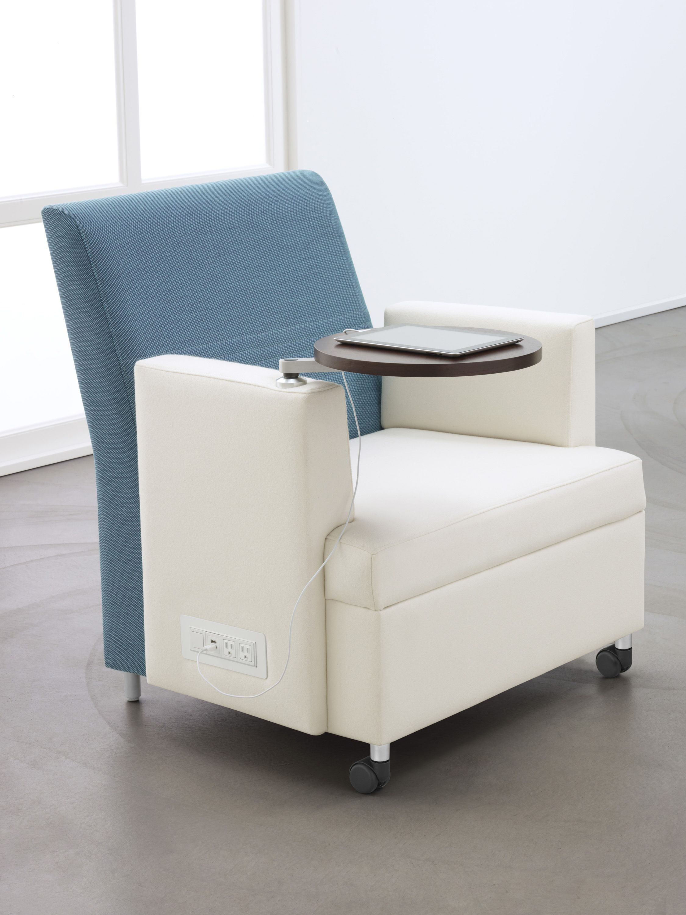 Interesting Furniture That Has USB Power And AC Power. High Back Ideas