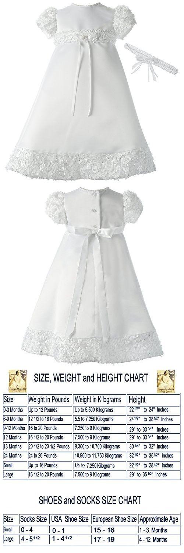 03901f3e9d Lauren Madison Baby-Girls Newborn Satin Dress Gown Outfit