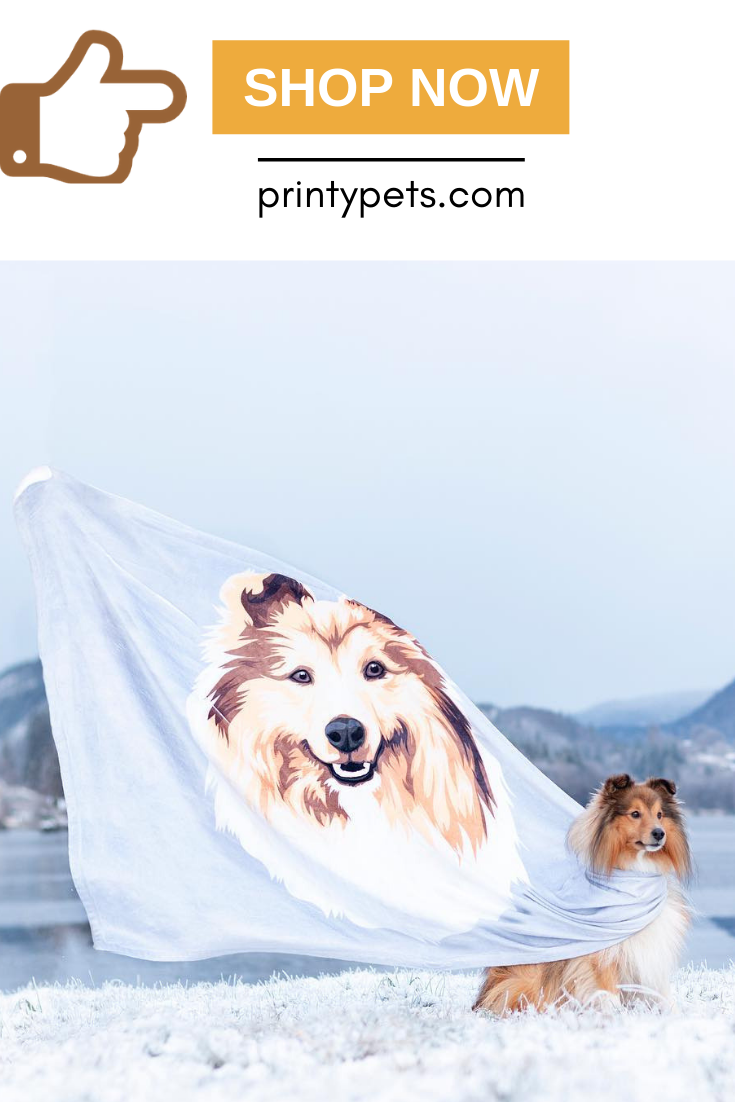 Custom Pet Print Fleece Blanket Pets Puppy Beds Unique Animals