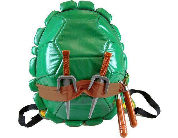 Mochila en forma de caparazón de las Tortugas Ninja  10367b60750