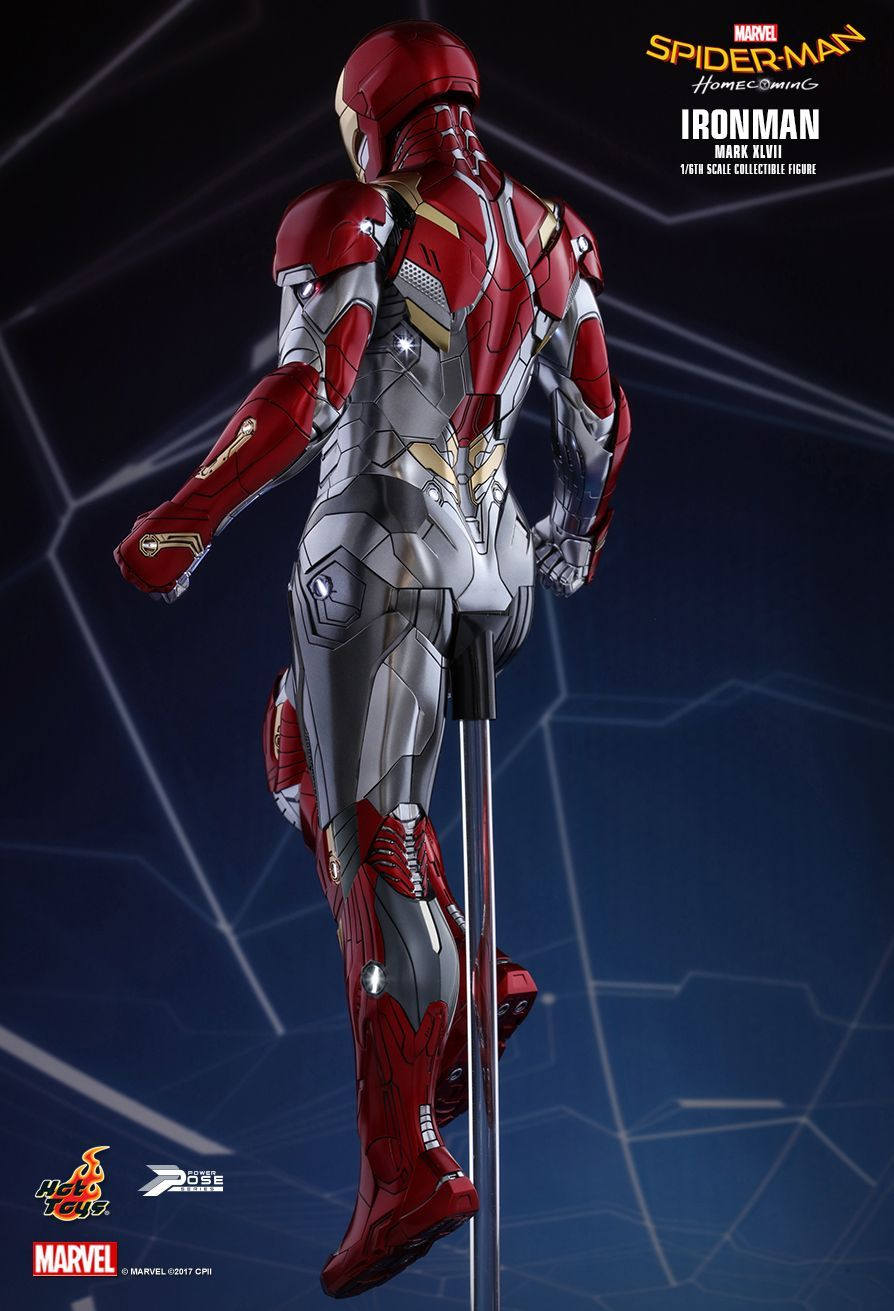 Hot Toys Spider Man Homecoming Iron Man Mark Xlvii Movie