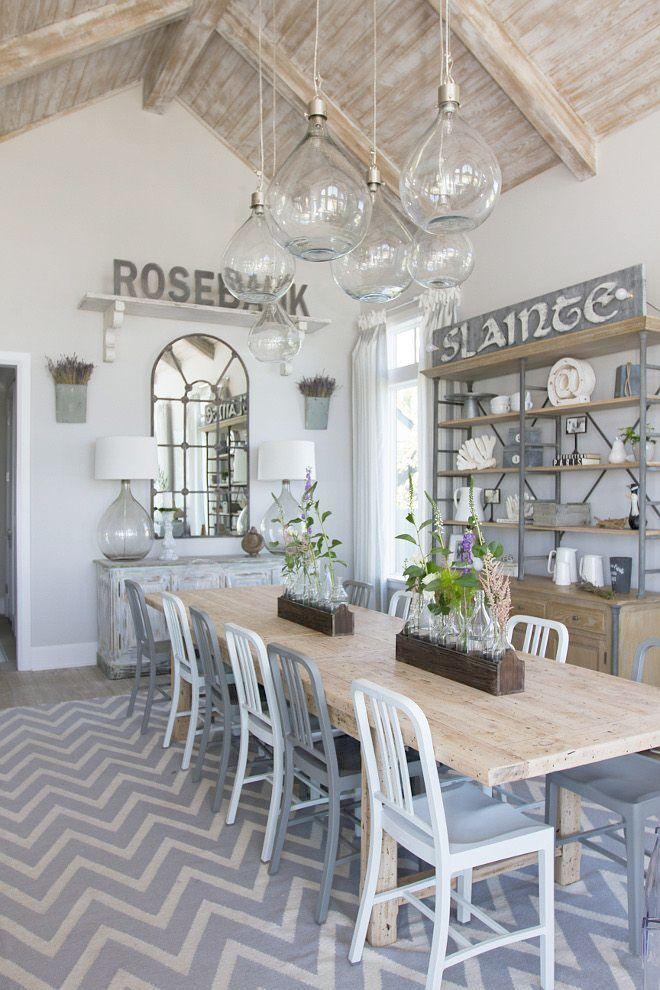 Beach House Grey Decor Beach House Ideas Nz Coastal Dining Room