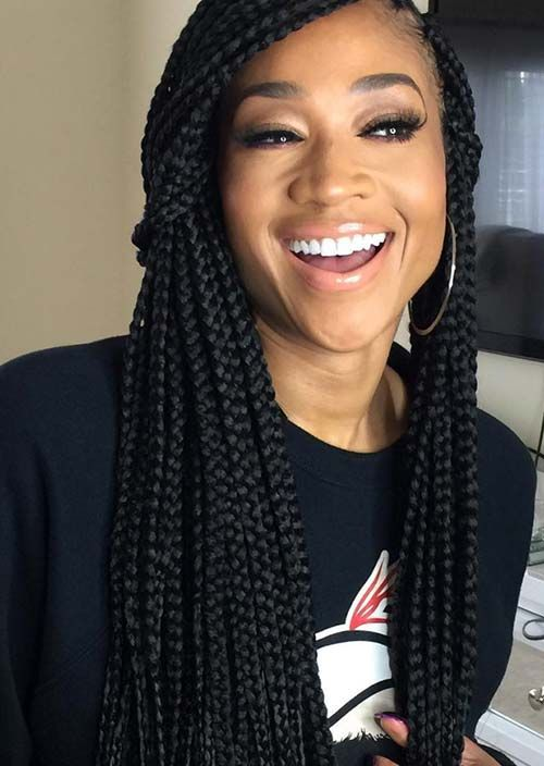 35 Awesome Box Braids Hairstyles You Simply Must Try | protective ...
