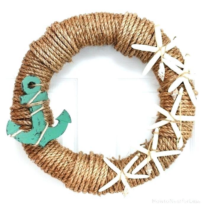 Beach Wreath Ideas Themed Wreaths Summer Summer Wreath