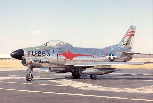 Aviones históricos: El F-86 Sabre