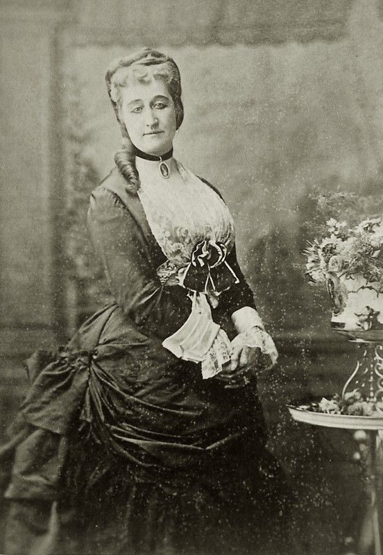 Empress Eugenie of France . Mids 1870s.