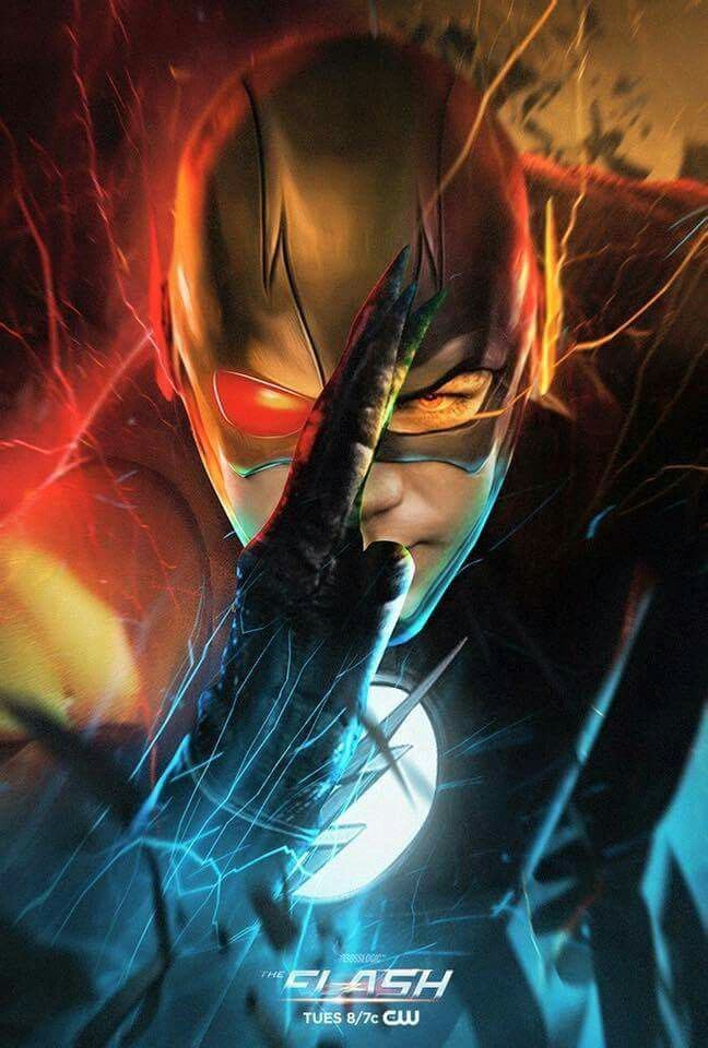 Looks Like The Flash Zoom And Reverse Flash Put Together Looks Awesome Flash Wallpaper Reverse Flash The Flash