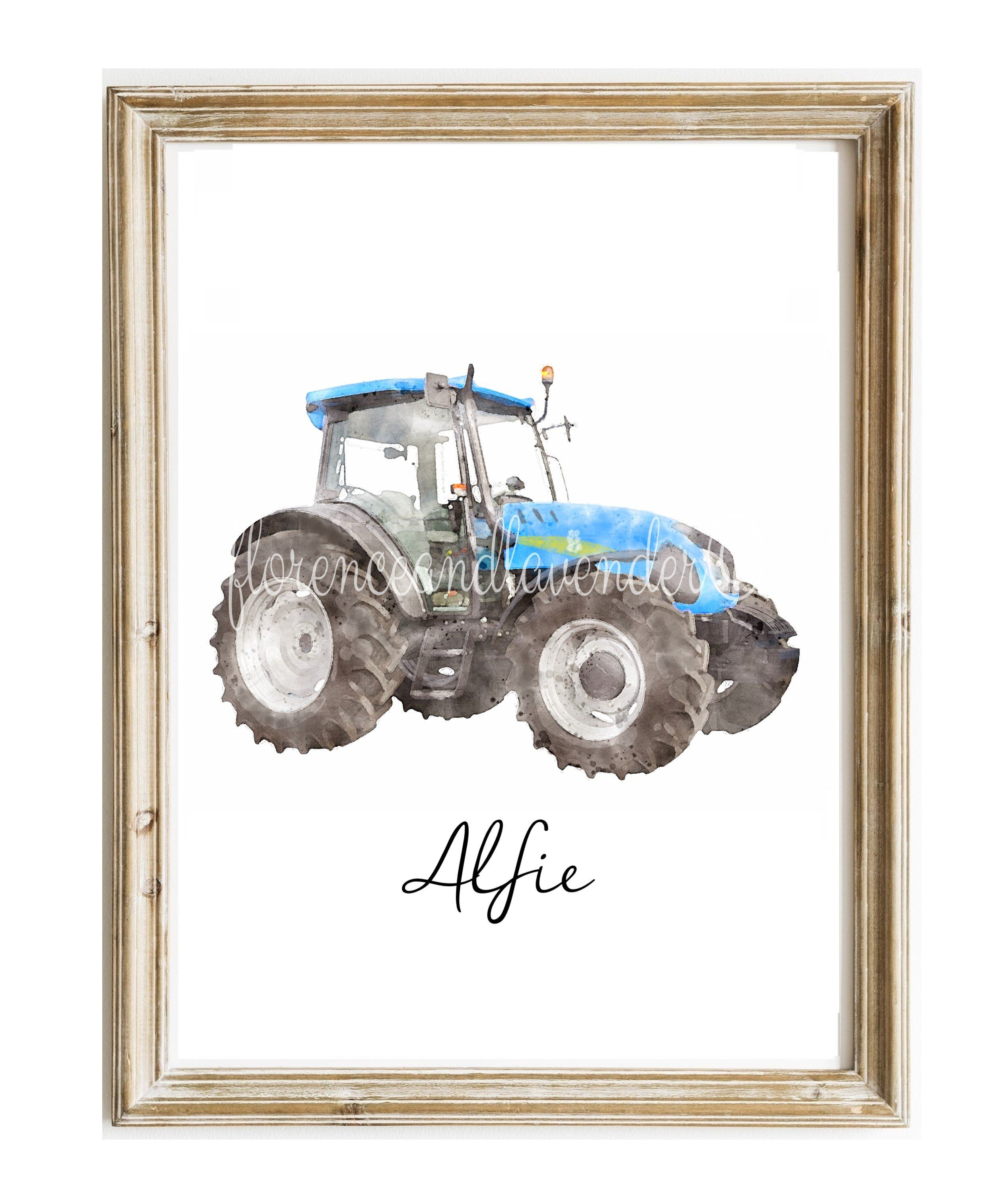 Personalised New Holland Print - 8 x 10