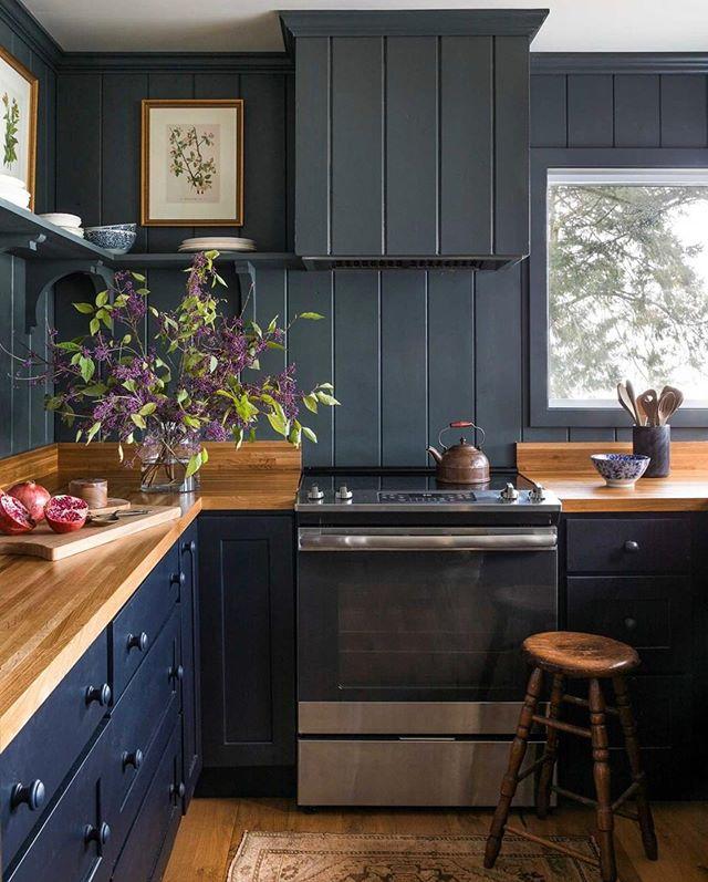 Instagram Kitchen Design Small Black Kitchen Decor Kitchen Design