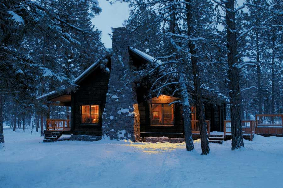 Log Cabin In The Woods Winter Google Search Makes Me Think Of