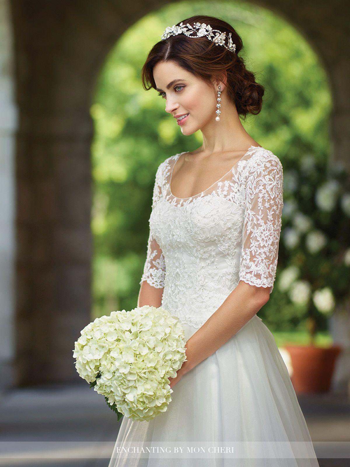 Moderne Brautkleider 2019 von Mon Cheri | Kleider hochzeit ...