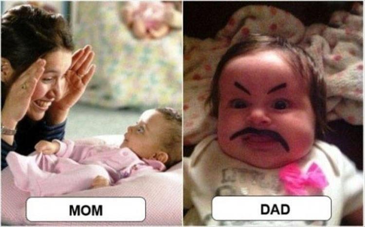 Photo of Les principales différences entre la mère et le père 18 images