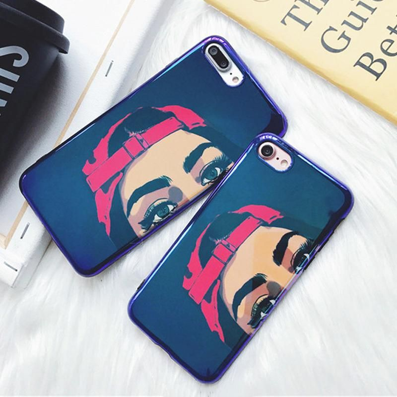 Hip-Hop Girl Glossy iPhone Case   Girl iphone cases, Iphone cases ...