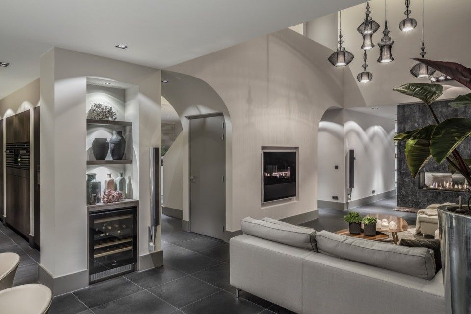 Moderne woonkamer inspiratie | Villa\'s | Pinterest