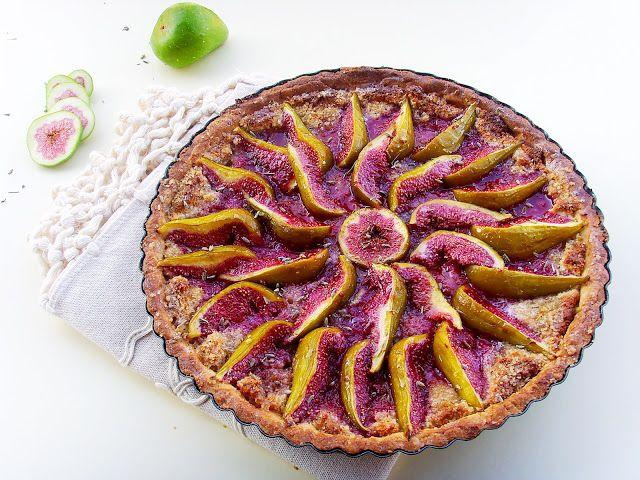 Angellove's Cooking: Гурме тарт със смокини, бадеми и лавандула / Gourmet Fig…