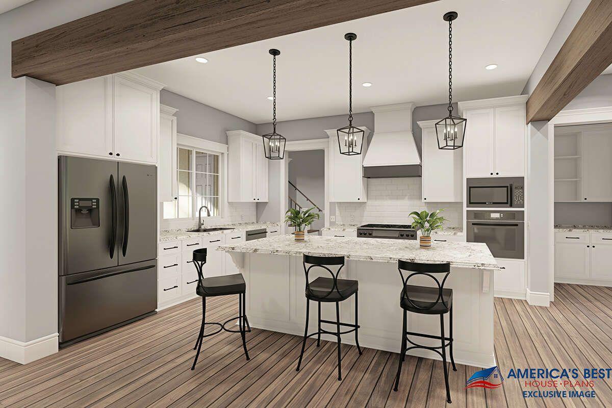 House Plan 453400019 Modern Farmhouse Plan 2,435