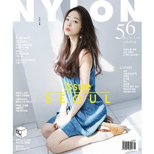 NYLON (韓国雑誌) / 2016年5月号(表紙:ソルリ) [ 韓国 雑誌 ] [ ファッション ] [ かわいい ] [ NYLON ] 韓国音楽専門ソウルライフレコード