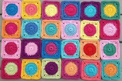 Quadrate Für Decke Häkeln Pinterest