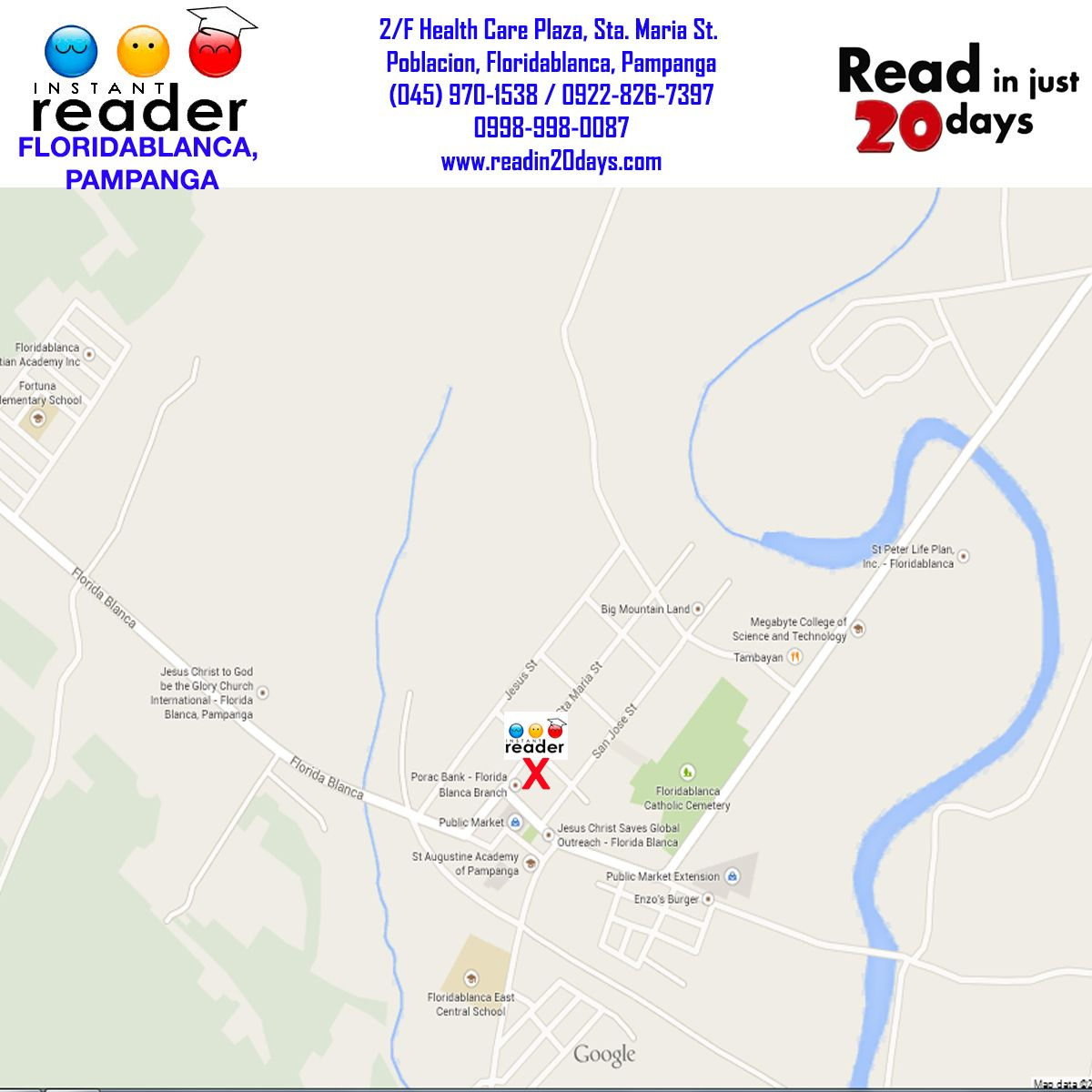 Floridablanca Pampanga Center Map Pat Domingo Center Manager Patvdomingo Yahoo Com Eduardo M Domingo Center Supervisor 2 F Healt Location Map Map Readers