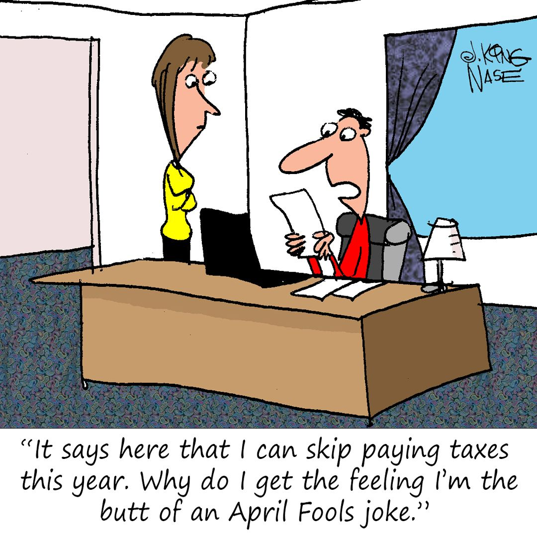 Don't be fooled, be sure to either file your taxes by