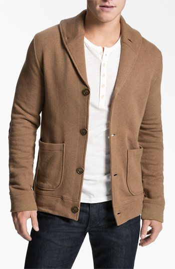 Obey 'Smithson' Fleece Cardigan available at #Nordstrom