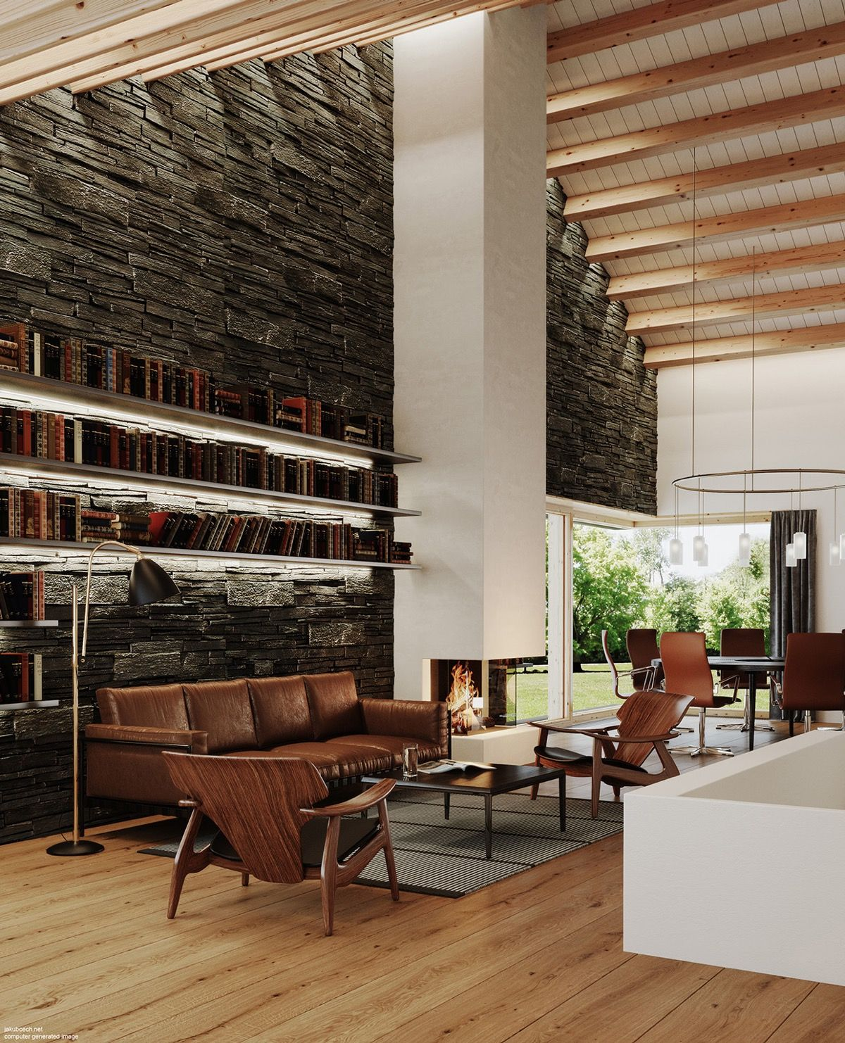 Design Ideas Tips Inspiration: Living Rooms With Brown Sofas: Tips & Inspiration For