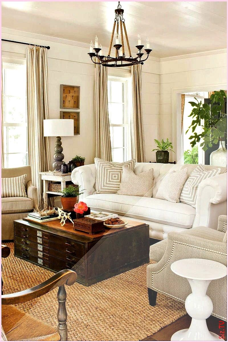 a Statement Sofa for a Large Room A tufted chesterfield sofa covered in familyfriendly Sunbrella fabric adds scale and traditional style Ti Choose a Statement Sofa for a...
